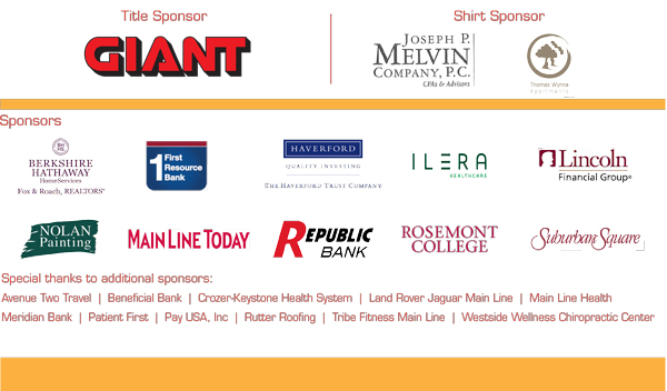 Main Line Run Sponsors 2017